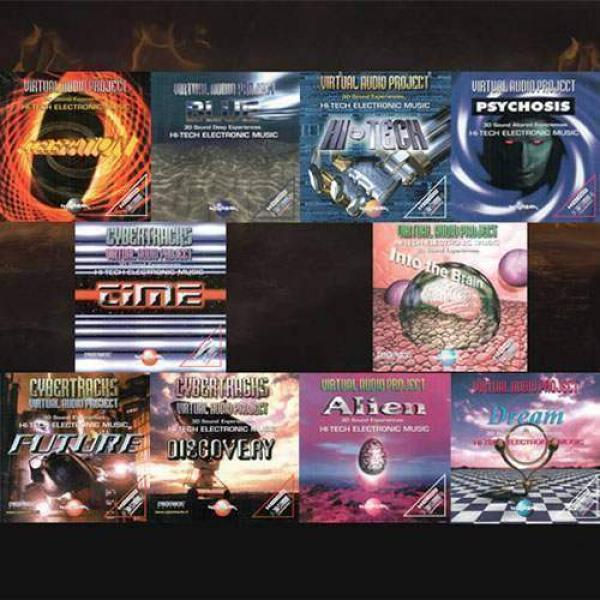 Kit CD Audio - Professional music magic shows - 10...