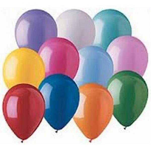 Balloons Latex 12.5 cm pz.100 (Gold Metal)