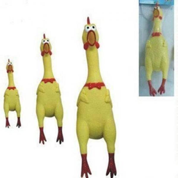 Rubber Shrilling Chicken - Medium