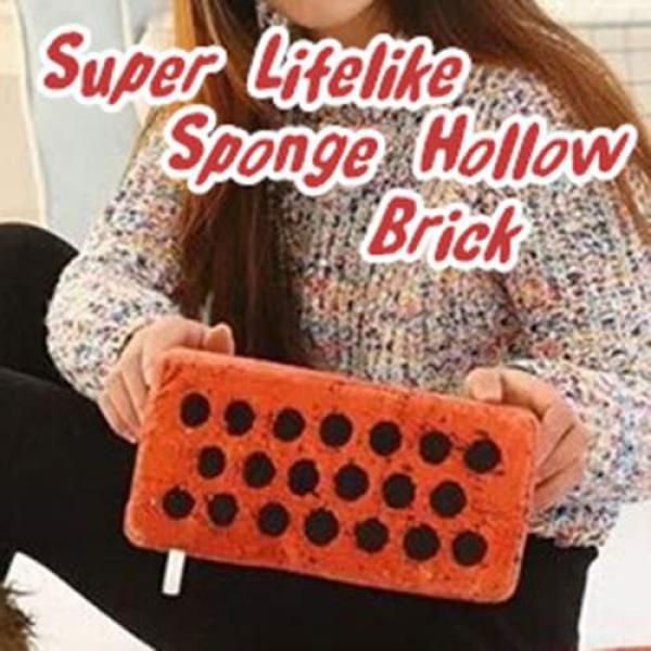 Super Lifelike Sponge Hollow Brick