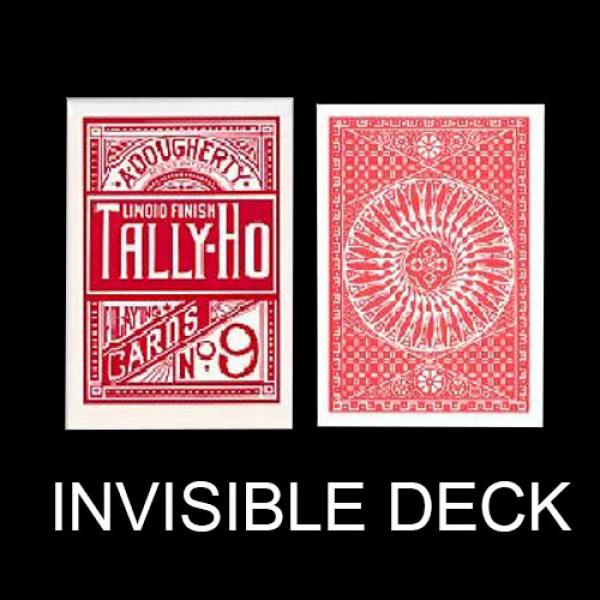 Invisible deck Tally Ho - Circle Back - Red back