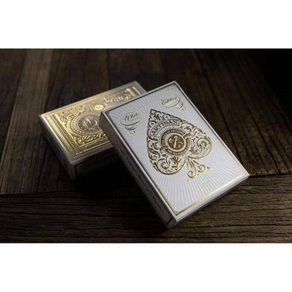 White Artisans Deck by Theory11