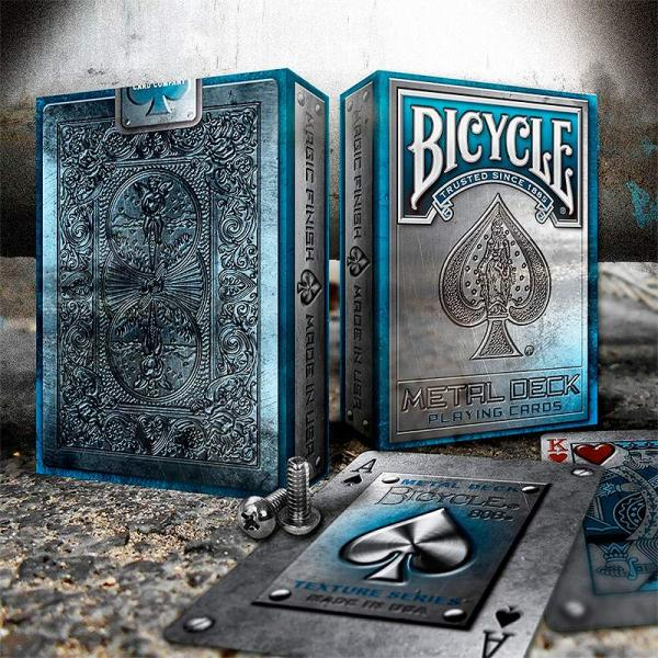 Bicycle -  Metal Rider Back Blue Edition