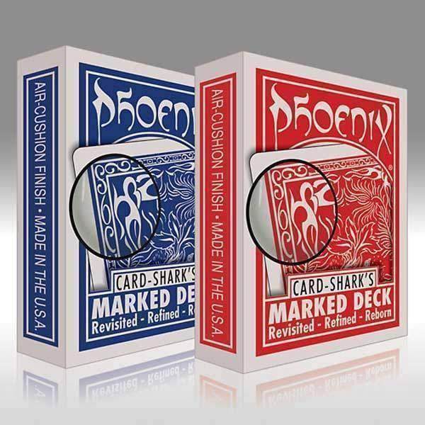 Phoenix Poker - Marked - Blue Back