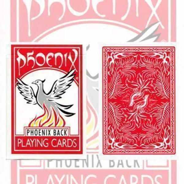 Large Index Phoenix Double Decker blank (two red d...