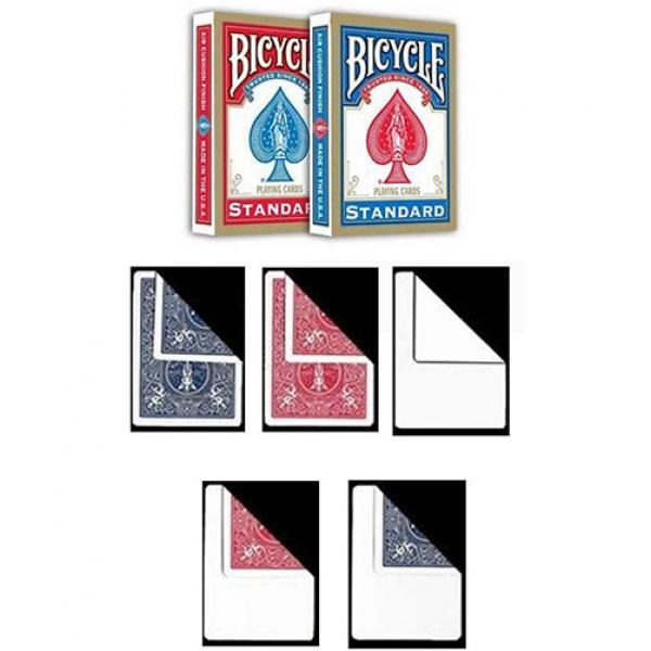 2 Bicycle Standard Index decks + 10 Gaff Cards