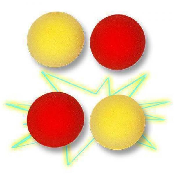 Color Changing Sponge Balls (Red/Yellow)