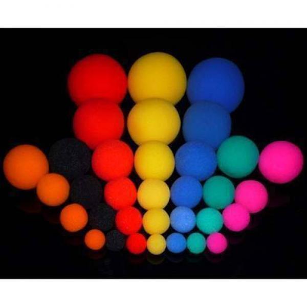 Sponge balls 6.0 cm - 6 pcs (Assorted)