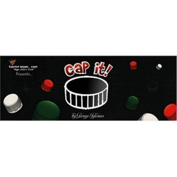 CAP IT (Black) by Twister Magic