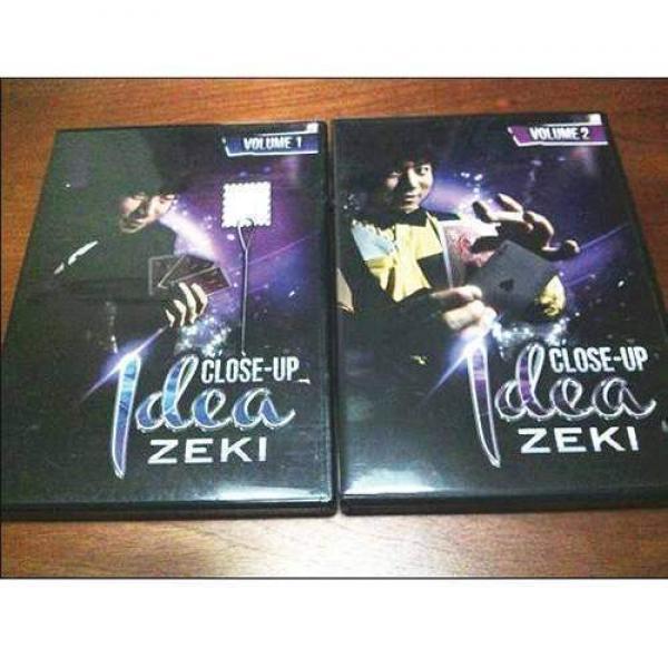 Close up by Zeki - Volumes 1&2 - 2 DVD