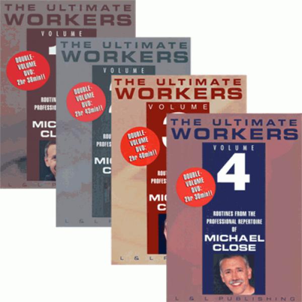 Michael Close Workers Set (Vol 1 thru 4) video DOW...