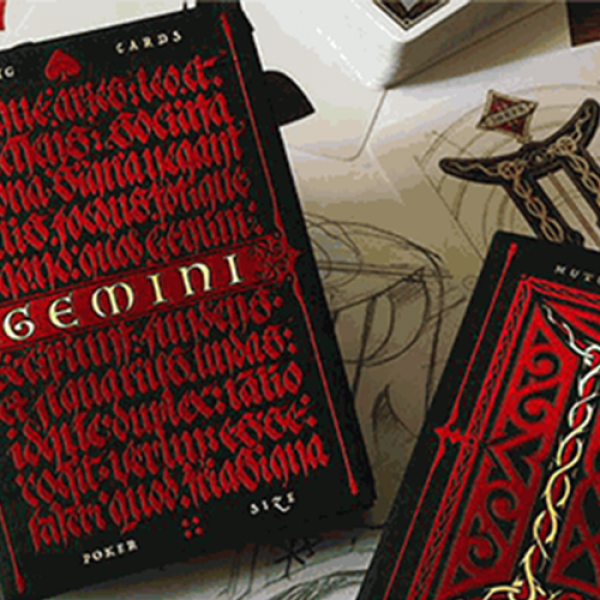 Gemini Ignis Playing Cards by Stockholm17