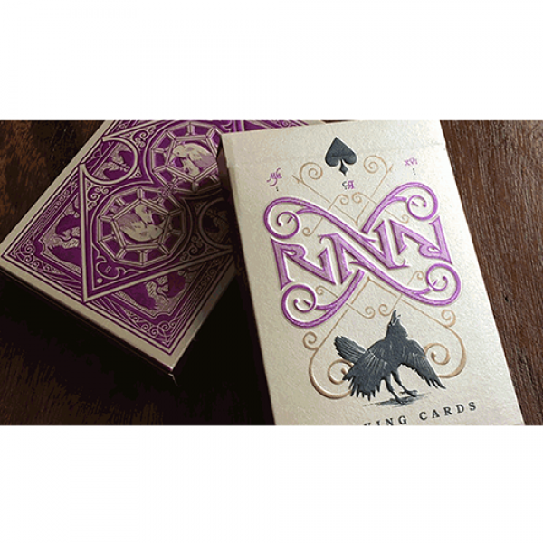 Ravn Playing Cards (Purple) Designed by Stockholm1...