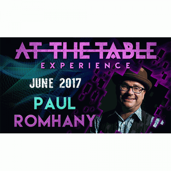 At The Table Live Lecture Paul Romhany June 7th 20...