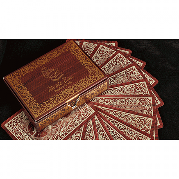 Music Box Playing Cards by Collectible Playing Car...