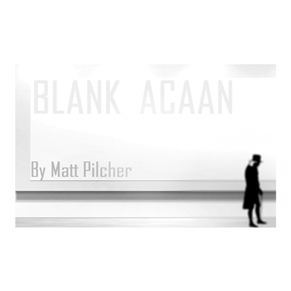 Blank ACAAN by Matt Pilcher eBook DOWNLOAD