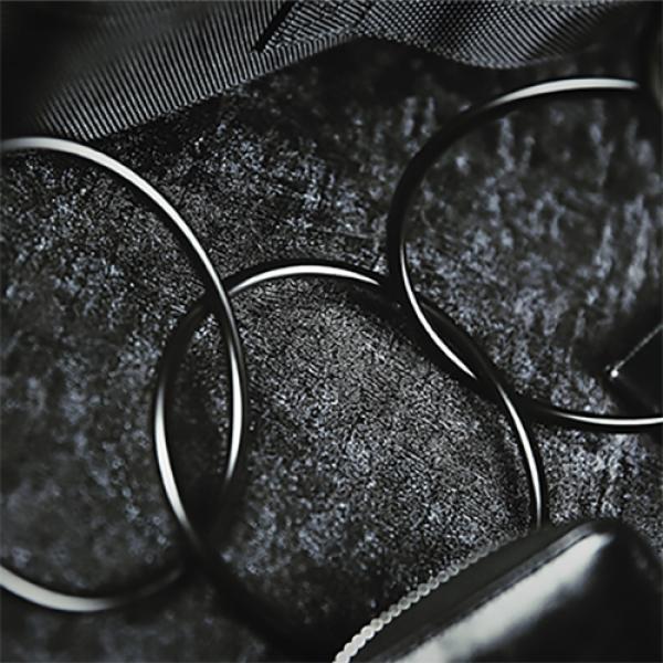 Linking Rings (Black) 10 cm by TCC - Anelli Cinesi
