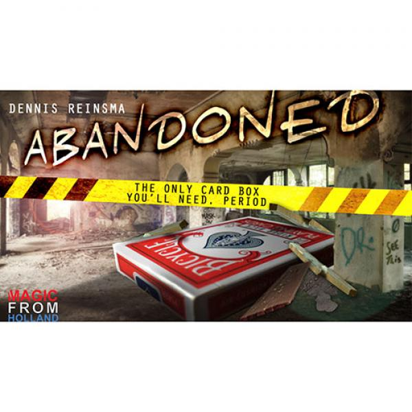 Abandoned RED (Gimmicks and Online Instructions) b...