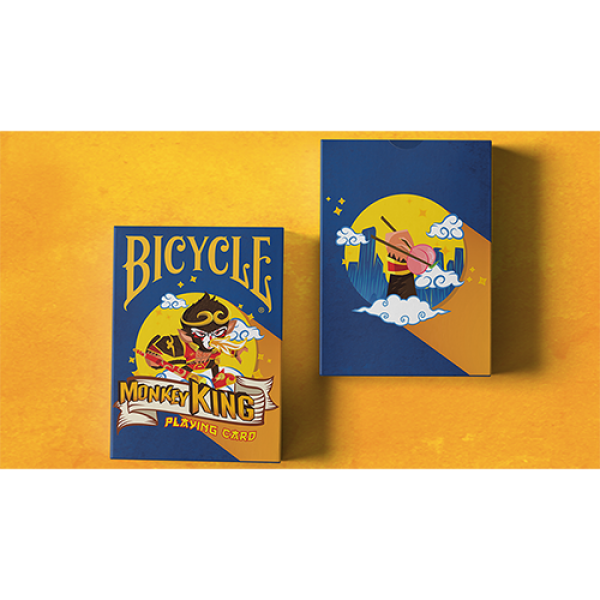 Bicycle Monkey King Playing Cards by Riffle Shuffl...