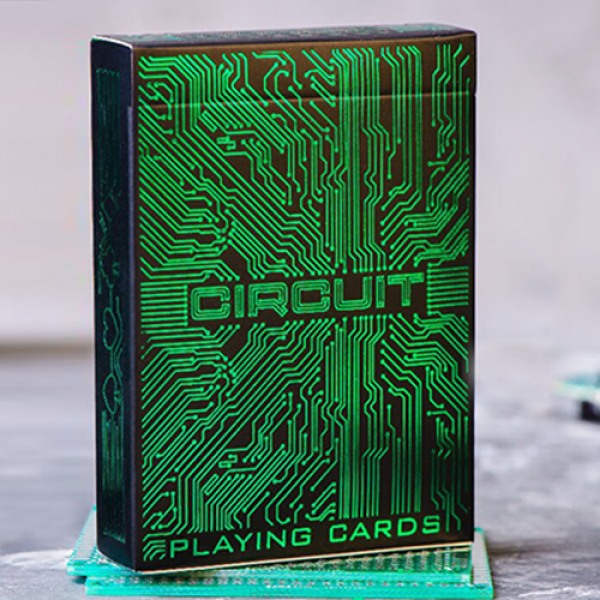 Circuit (Green) Playing Cards by Elephant Playing ...