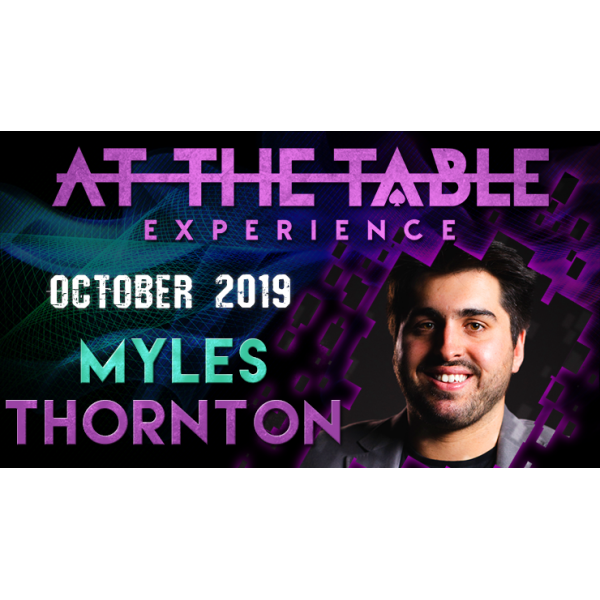 At The Table Live Lecture Myles Thornton October 1...