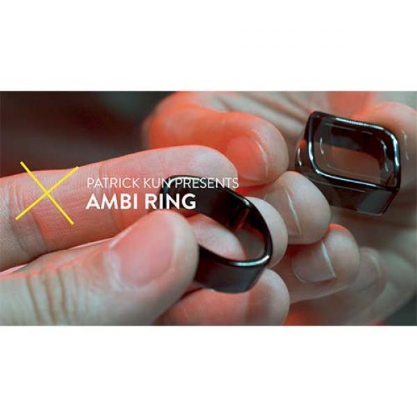 Ambi Ring Silver by Patrick Kun