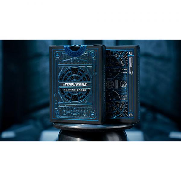 Star Wars Light Side (BLUE) Playing Cards by Theor...