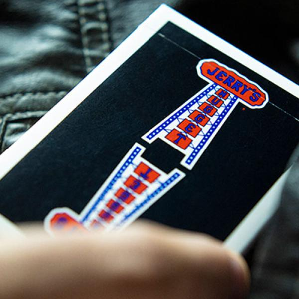 Vintage Feel Jerry's Nuggets (Black) Playing Cards