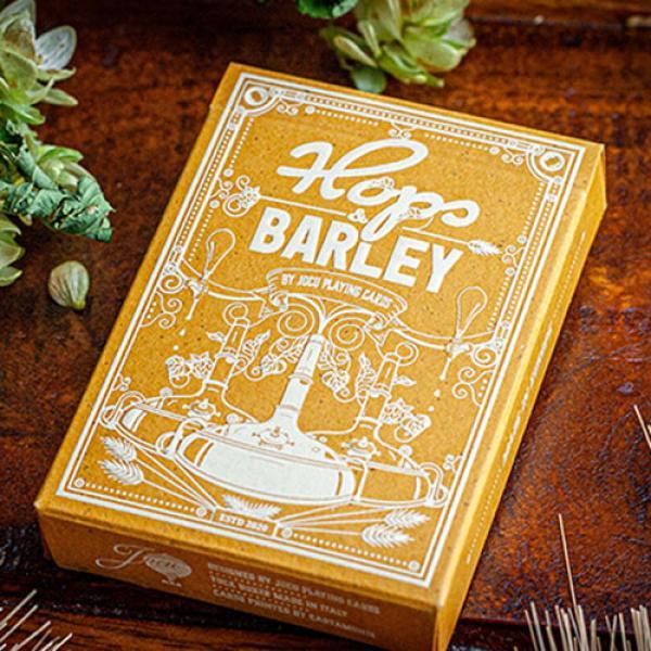 Hops & Barley (Pale Gold Pilsner) Playing Card...