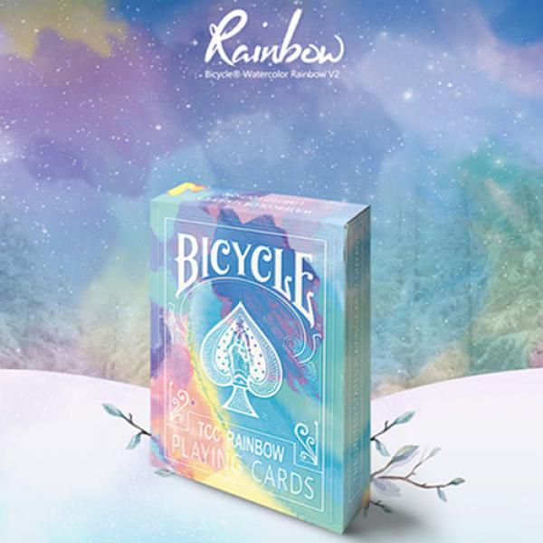 Bicycle Rainbow (Cedar) Playing Cards by TCC