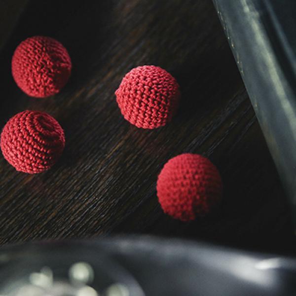 Crochet Ball Set (Red) by TCC