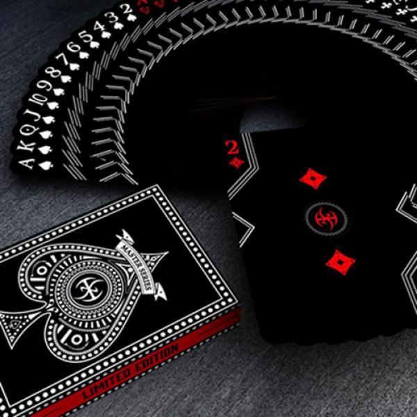 Black Platinum Lordz Playing Cards (Standard) by D...