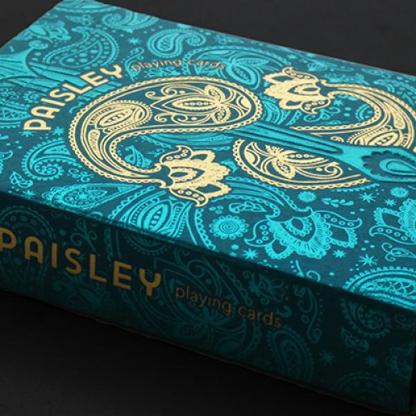 Paisley Royals (Teal) Playing Cards by Dutch Card ...
