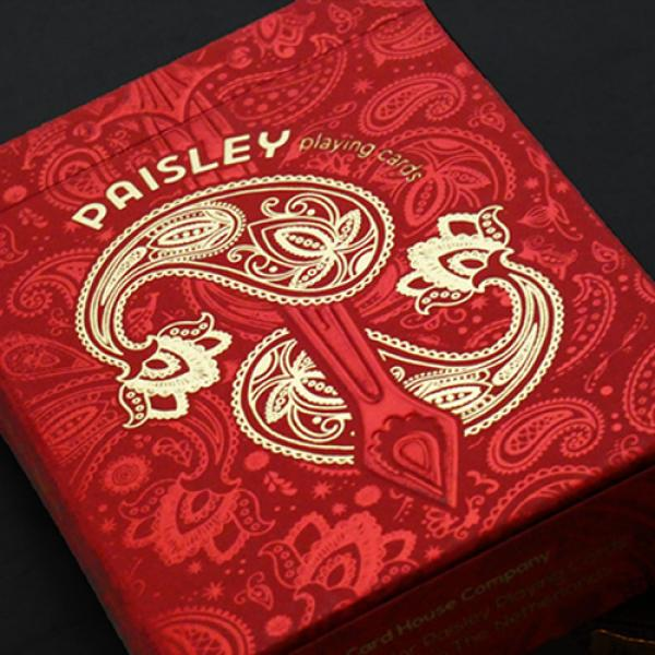 Paisley Royals (Red) Playing Cards by Dutch Card H...