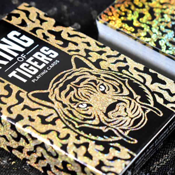 King Of Tiger Playing Cards by Midnight Cards