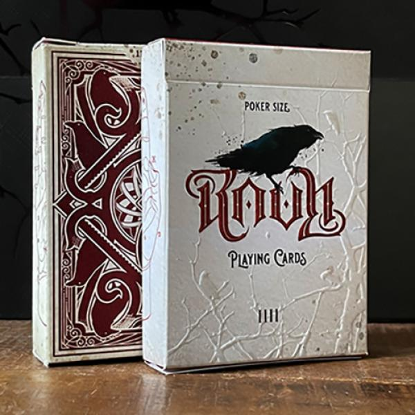 RAVN IIII (Red) Playing Cards Designed by Stockhol...