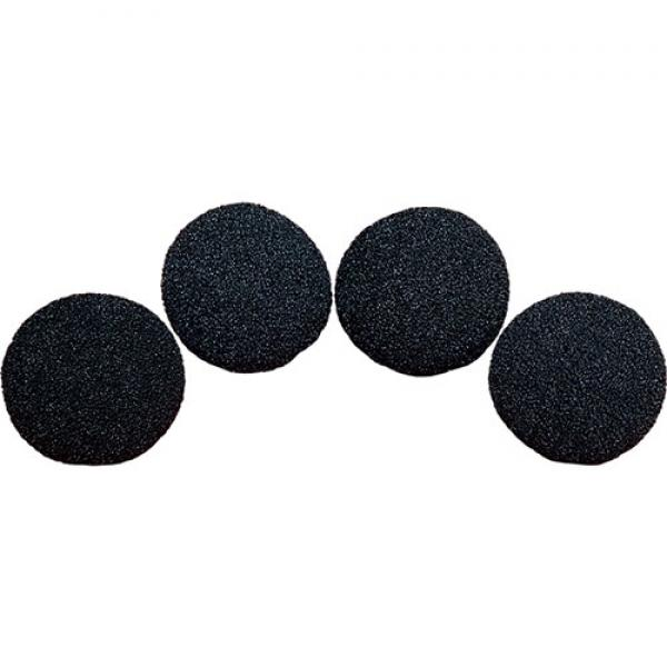 7.5 cm HD Ultra Soft Black Sponge Ball set of 4 fr...