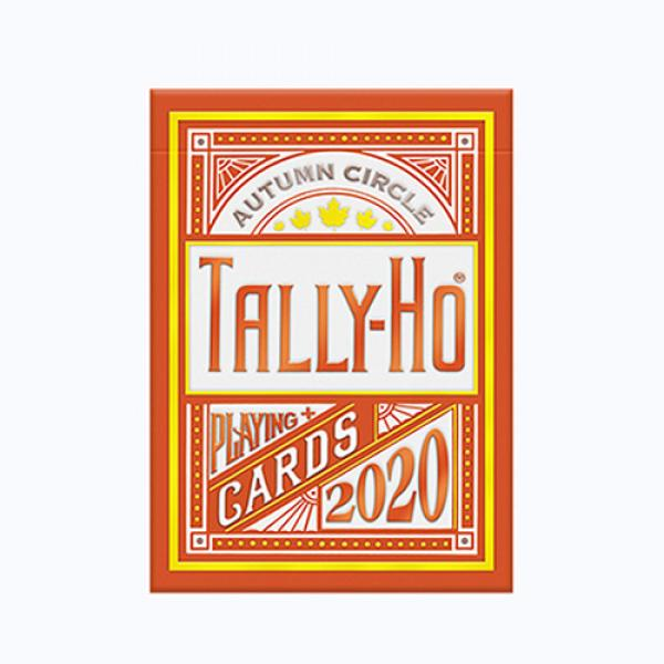 Tally Ho Autumn Circle Back Playing Cards