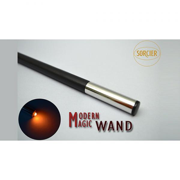 Modern Light Wand RED by Sorcier Magic