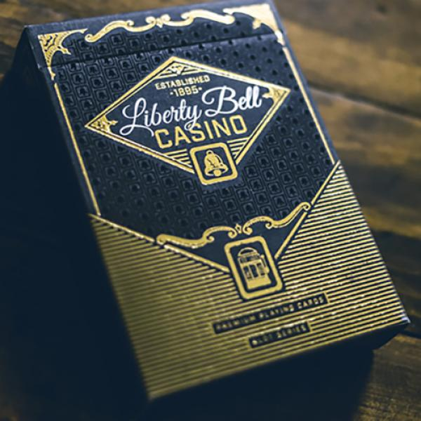 Slot Playing Cards (Liberty Bell Edition) by Midni...