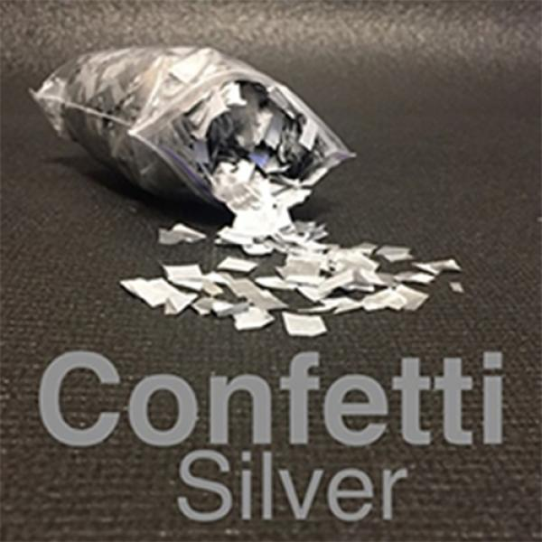 Confetti SILVER Light by Victor Voitko (Gimmick an...