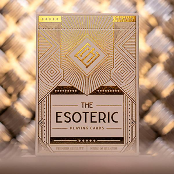 Esoteric: Gold Edition Playing Cards by Eric Jones