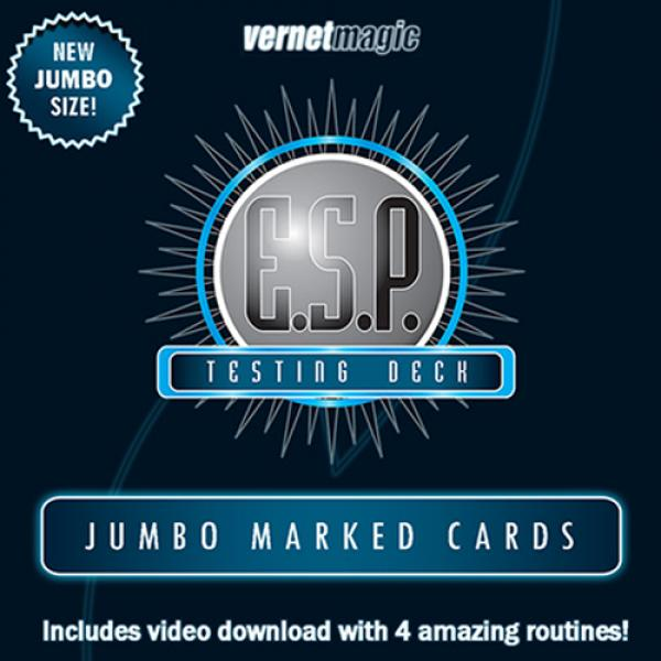 E.S.P. Jumbo Testing Cards (Gimmicks and Online In...