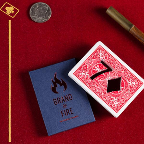 BRAND OF FIRE / RED (Gimmicks and Online Instructi...