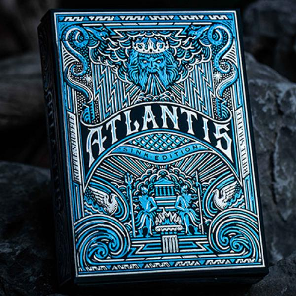 Atlantis Sink Edition Playing Cards by Riffle Shuf...