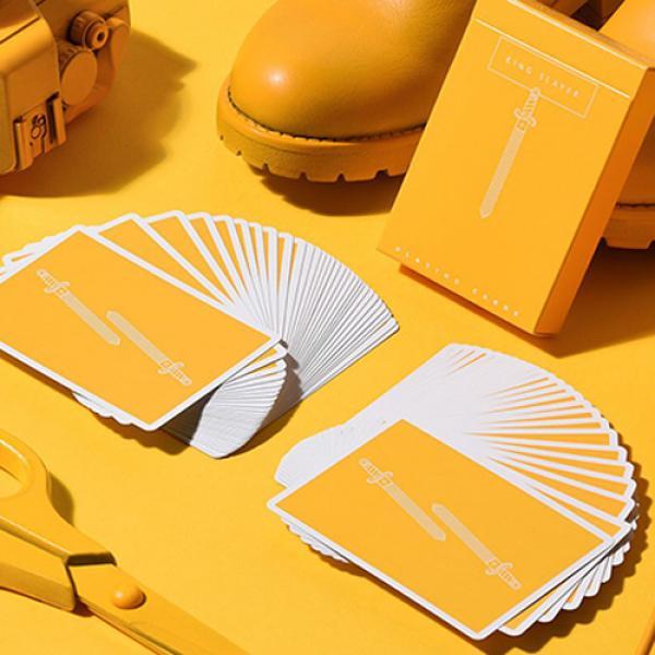 King Slayers (Mustard) Playing Cards