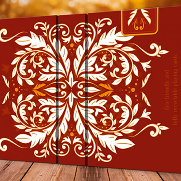 Leaves Autumn Playing Cards by Dutch Card House Co...