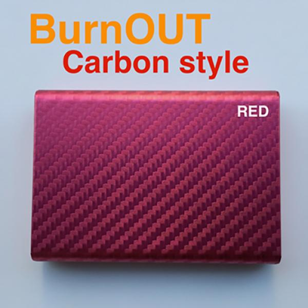 BURNOUT 2.0 CARBON RED by Victor Voitko (Gimmick a...