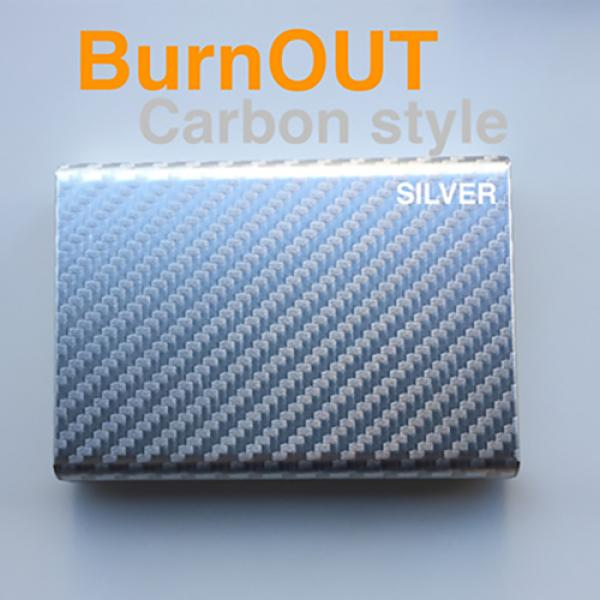 BURNOUT 2.0 CARBON SILVER by Victor Voitko (Gimmic...