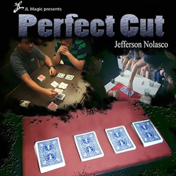Perfect Cut Gimmick Deck by Jeff Nolasco and JL Ma...